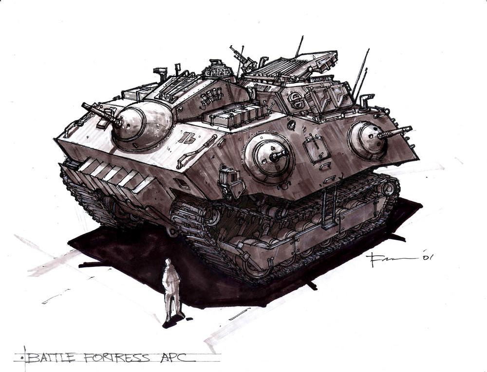 Artwork - Battle Fortress