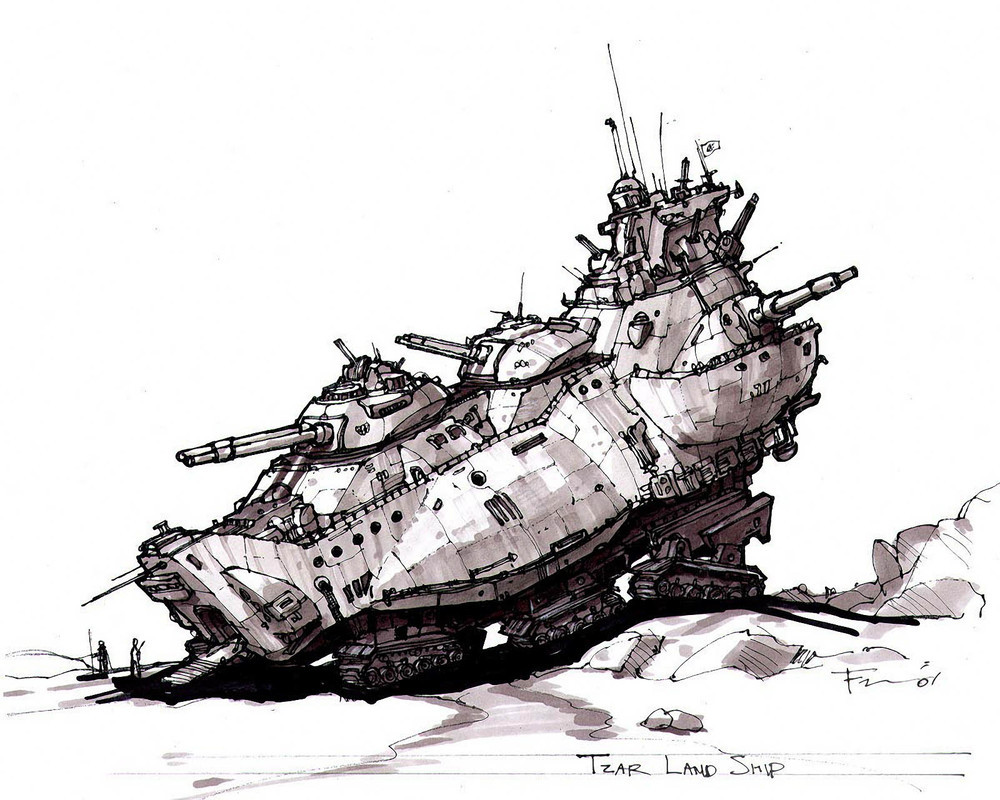 Artwork - tzar Landship