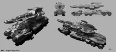 Artwork - Empire Siege Tank