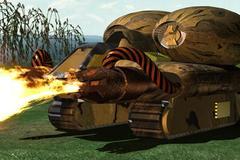 Tank lance-flammes
