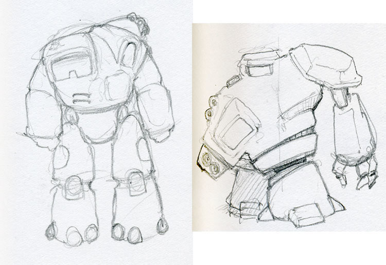 Mech Rough Concepts