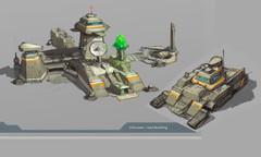 GDI HQ concept Art