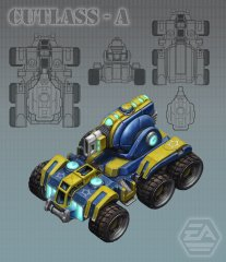 Artwork cutlass
