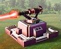 Tourelle de défense laser